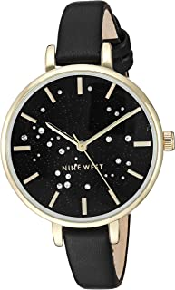 Women's NW Crystal Accented Strap Watch