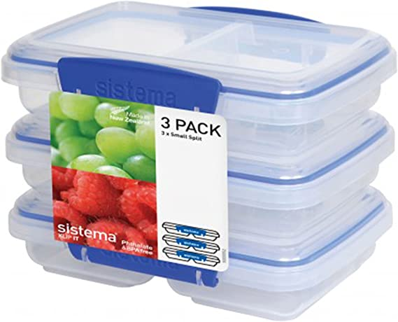 Sistema Klip It Multi-Use Food Storage Container Set