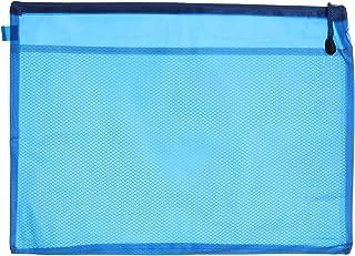حافظة بلاستيك بسوستة 758A H100 من ابل، مقاس ايه 3- ازرق