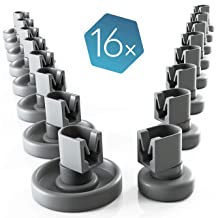 ?WESSPER/® Barra de placas de vidrio Frigor/ífico Congelador para Indesit BAN12X Longitud: 510mm, Frente