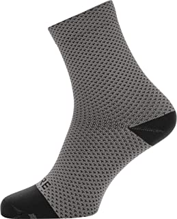 C3 Calcetines para ciclismo unisex, Talla: 38-40, Color: gris/negro