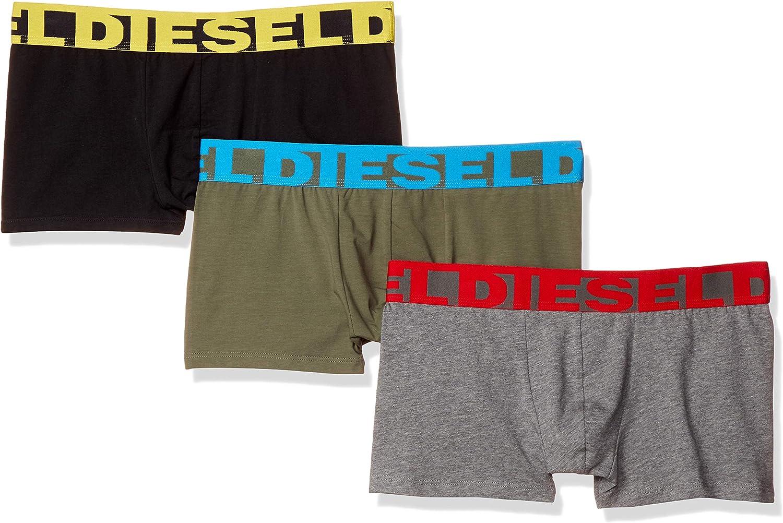 Diesel Men's UMBX-shawnthreepack Boxer 3pack