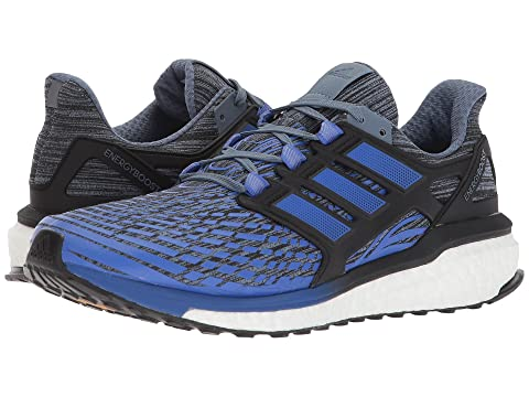 online store 700df 7e479 Adidas Energy Boost Hi Blue Core res Running Raw Black Steel FawprP1Fq