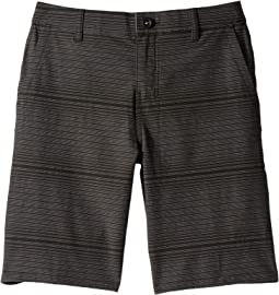 Locked Stripe Shorts (Big Kids)