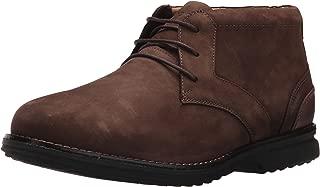 Men's Premium Class Chukka Boot, BROWN NUBUCK, 10 M US