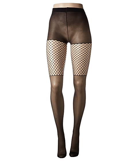 PRETTY POLLY Thigh Net Tights, Black