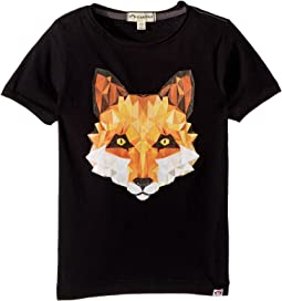 Appaman Kids - Geo Fox Graphic Tee (Toddler/Little Kids/Big Kids)