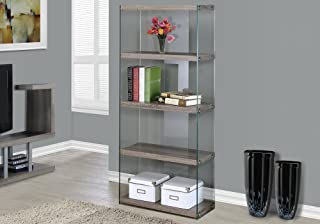 Best glass bookcase cabinet Reviews