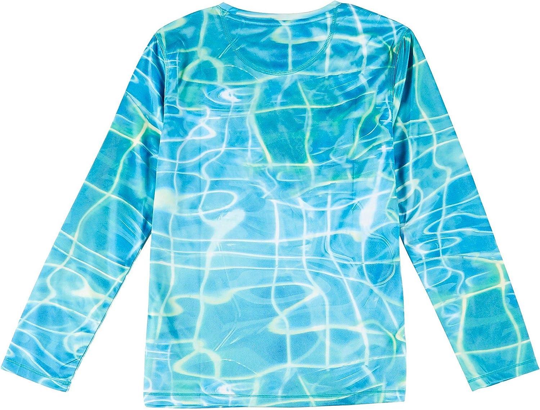 Reel Legends Big Boys Reel-Tec Water Plaid Tee X-Large (18) Blue/White