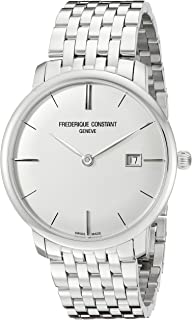Frederique Constant Men's FC-306S4S6B2 Analog Display Swiss Automatic Silver Watch