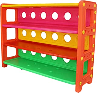 eHomeKart Toy Storage Organizer for Kids - Playgro Multi-Purpose Shelves for Books and Toys Storage - Multi-Colour Book Sh...