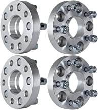 ECCPP 5 lug Hubcentric Wheel Spacer Adapters 25mm 5x114.3 to 5x114.3mm 5x4.5 to 5x4.5 64.1mm compatible with Acura RL CL RSX TSX TL Honda Element Civic CRV with 12x1.5 Studs