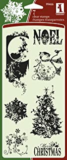 Inkadinkado Holiday Silhouettes Clear Stamps