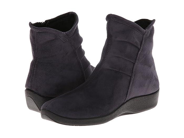 Arcopedico  L19 (Grey Suede) Womens Zip Boots