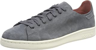 adidas Originals Womens Stan Smith Nuud Low Rise Suede Casual Trainers - Grey