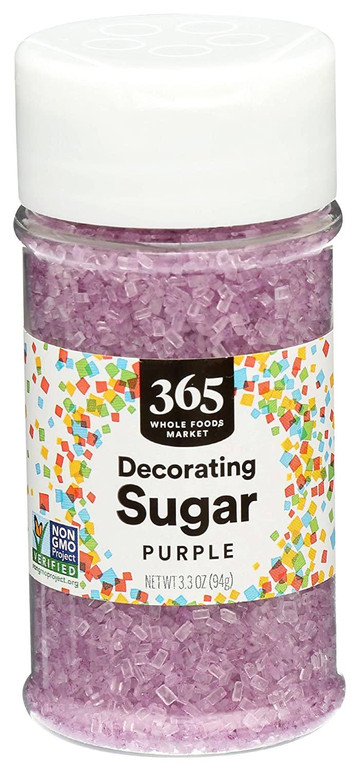 365 OFFicial mail order by Whole Foods Market Decorating 3.3 Washington Mall Purple Sugar Ounce