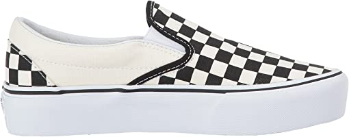 Black and White Checker/White