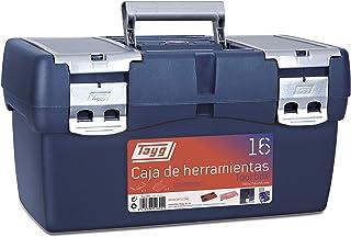 Tayg 16 Caja Herramienta Plástico, Azul/Rojo, 500 x 258 x 2
