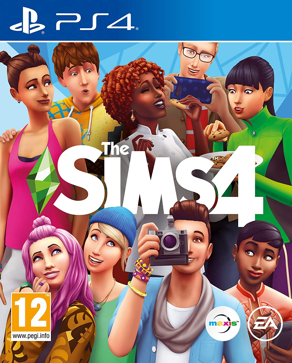 The Translated Sims 4 famous PS4