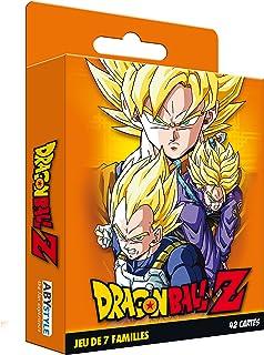 Cartamundi France - ABYstyle ABYstyle - Dragon Ball - Jeu de Cartes - 7 familles DBZ