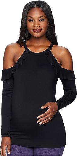 Maternity Frill Seeker Pullover
