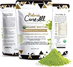 Organic Matcha Green Tea Powder | USDA Certified, Authentic Japanese Origin | Natural Energy & Metabolism Booster-for Baking, Smoothies, Lattes & Weight Loss Shakes-Premium Culinary Grade