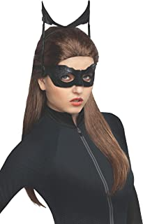 Batman Dark Knight Rises Catwoman Wig, Black, One Size