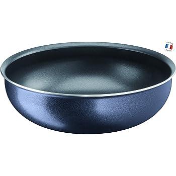 Gris Tefal L2561902 Ingenio Pr/éserve Po/êle Wok Tous Feux Dont Induction C/éramique 28 cm