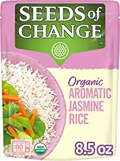 Sponsored Ad - SEEDS OF CHANGE Organic Jasmine Rice, 8.5 Ounce (Pack of 12)