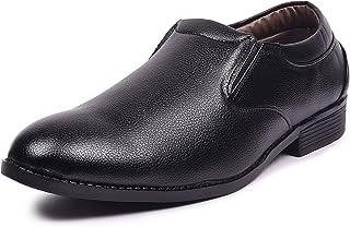 Andrew Scott Men's Black Synthetic Formal Shoes