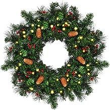 Best cordless christmas wreath Reviews