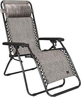 Bliss Hammocks 26 Inch Zero Gravity Lounger Chair with Pillow
