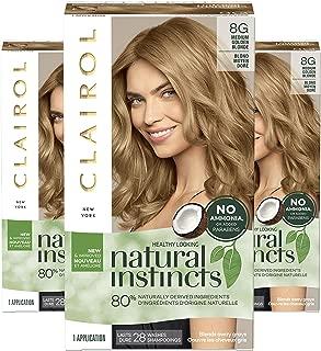 semi permanent hair colour golden blonde