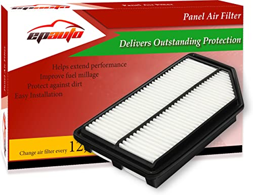 2021 EPAuto sale GP042 (CA11042) outlet sale Replacement for Honda Extra Guard Rigid Panel Air Filter for Odyssey (2011-2017) online