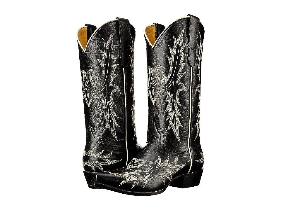 Stetson Tina (Black) Cowboy Boots