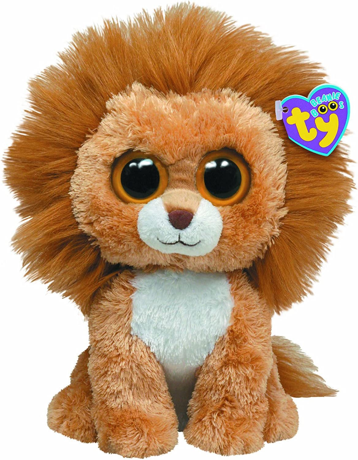 Ty Beanie Boos Buddy  King the Lion