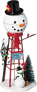 Department 56 Accessories for Villages Snowman Watertower Figurine Accessory