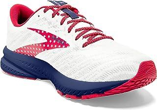 Brooks, Launch 7, Scarpe da donna, (bianco/blu/rosso.), 36.5 EU