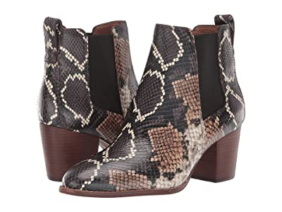 Madewell Regan Boot (Warm Ash Multi Snake) Women