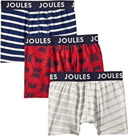 Joules Kids - 3-Pack Of Boxers (Toddler/Little Kids/Big Kids)