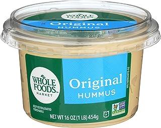 Whole Foods Market, Hummus, Original, 16 oz