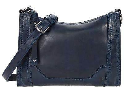 Frye Melissa Zip Crossbody (Ocean) Cross Body Handbags