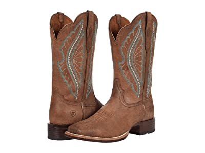 Ariat Primetime (Tack Room Brown) Cowboy Boots