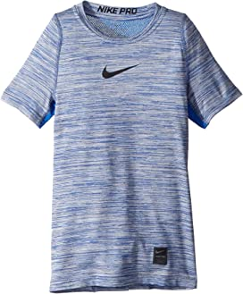3b1a85ff Nike Kids Pro Fitted Short Sleeve Training Top (Little Kids/Big Kids ...