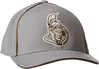 NHL Men's SP17 Gray Camo Structured Flex Cap