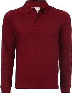 Uniform Young Men's Long Sleeve Pique Polo