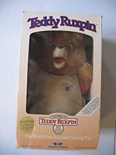 Teddy Ruxpin Worlds Of Wonder Talking Story Bear