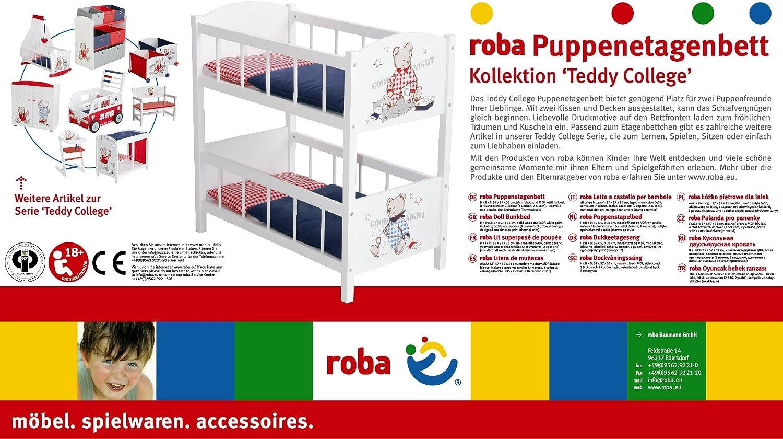 Accessoire Pour Marionnette Roba Baumann Gmbh 98831 Doll Bunkbed
