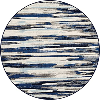 Creative Round Area Rugs 80cm 100cm 120cm 140cm 160cm 180cm 200cm Large Carpet for Living Room Bedroom Hanging Basket Mat (Size : Diameter 5.2ft/160cm)