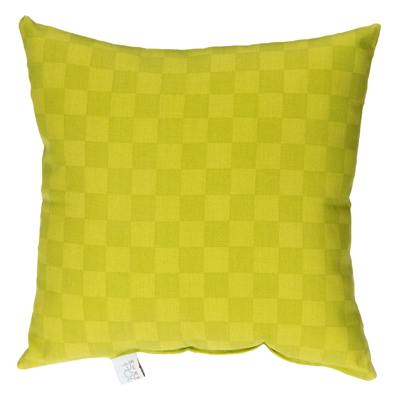 Glenna Jean North Arlington Mall Seattle Mall Country Green Check Pillow